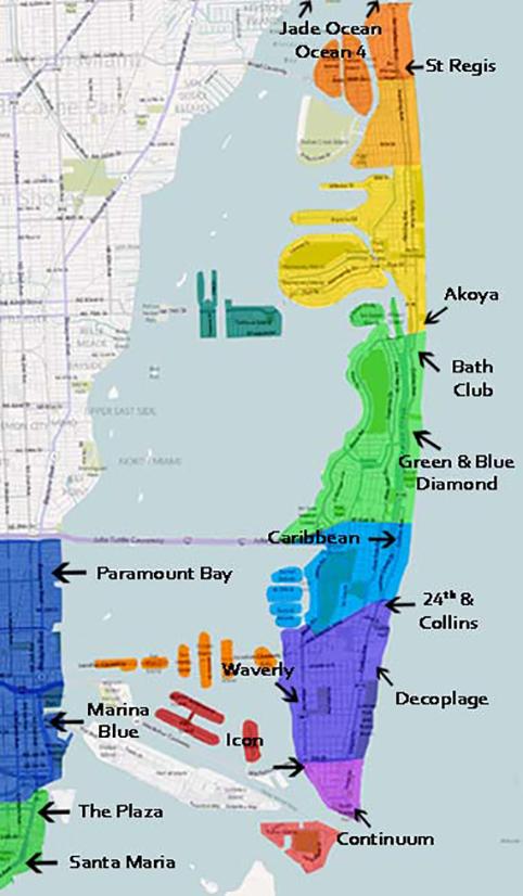 Miami Florida Barrios Y Condos Ubicaci 243 N