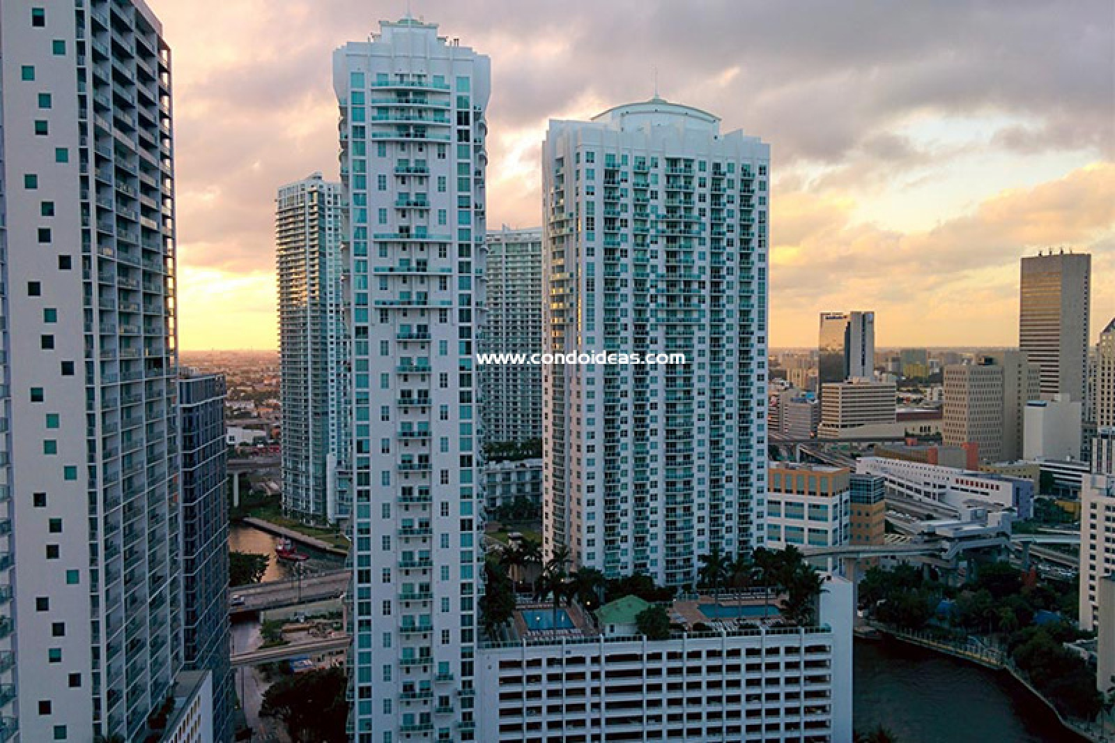 Brickell on the river condo - South Tower
