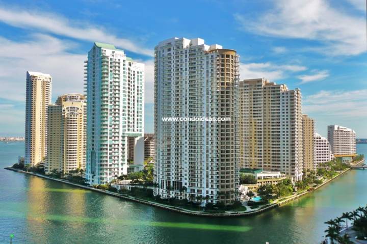 Brickell Key One - Condominium With First Class Amenities In